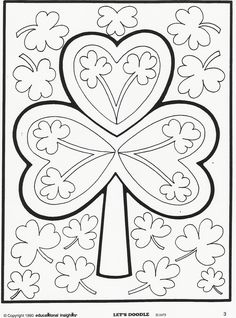 Lets Doodle Coloring Pages Cute Coloring Pages, Doodle Coloring, Printable Coloring Pages, Adult Coloring Pages, Coloring Pages For Kids, Coloring Books, Coloring Sheets, Kids Coloring, St Patricks Day Crafts For Kids