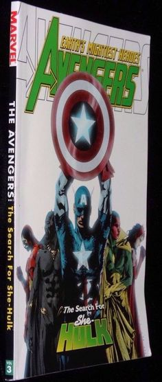 Avengers Earth Mightiest Heroes Search For She Hulk Marvel Comics Softcover Book
