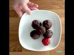 Strawberry Coconut Truffles - YouTube