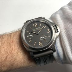 The ultra light made from titanium  #titanium #officine #panerai  #pam797 #browndial #power #8days #wristporn #watchporn #womw #instagood #dailyinspiration #instaart #instacool #italy