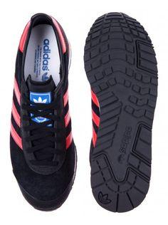 Adidas Mens Black Oringinals Marathon 85 Suade Trainers