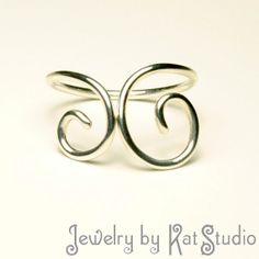 Handmade Jewelry - Toe Ring - Minimalism - Sterling Silver 925 - gift box