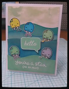 Sparkliie Creations: Lawn Fawn So Jelly