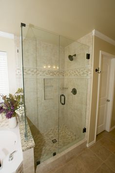 Dreamline Unidoor Plus 3112 Inx 3438 Inx 72 Insemi Custom Tulsa Bathroom Remodeling Inspiration Design