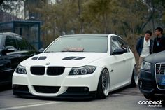 Stanced E90 at iAcrophobia event in China