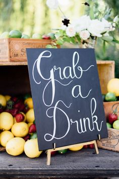 Grab a drink? Yes please! Read More on SMP: http://www.stylemepretty.com/living/2016/08/09/this-is-the-wildly-gorgeous-solution-to-a-gender-neutral-baby-shower/