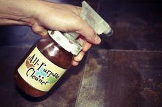 Limpiador multiuso a base de vinagre y aceites esenciales