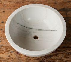 Round Marble Sink
