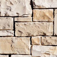 Coronado Stone Products Ashlar and Rubble 15-sq ft Texas Cream Faux Stone Veneer