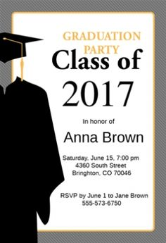 Graduation Party Invitations Templates which various color combination. Wanted some new suggestions about Graduation Party Invitations Templates? Currently there are lots of of Graduation Party Invitations Templates compilation on t… Free Printable Graduation Invitations, Graduation Invitation Wording, Graduation Announcement Template, Printable Invitation Templates, Graduation Announcements, Menu Templates, Budget Template, Design Templates, Printables