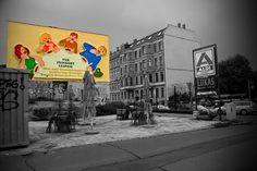 Die frisch (naja, 2011) sanierte Giebelwand und die Löffelfamilie kommen auf Rainers Bild besonders gut zur Geltung.