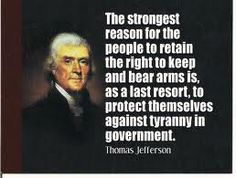 People have forgotten  how we got here & why it's a right, not a privilege-don't let your fear kill your common sense