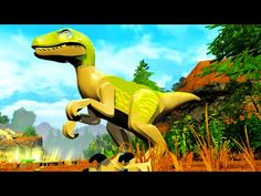 LEGO Jurassic World Velociraptor Delta Free Roam Gameplay & Ability Show...