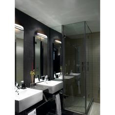 The Toilet bathroom light is a contemporary modern bathroom light suitable for bathroom zone Free delivery UK. Bathroom Mirror Lights, Modern Bathroom Lighting, Mirror With Lights, Small Toilet, Lighting Solutions, Modern Contemporary, Furniture, Home Decor, Vanity