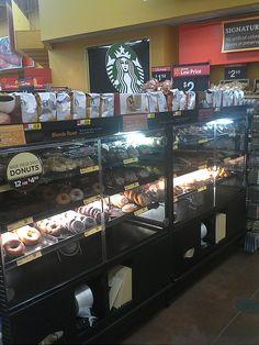 Starbucks Signage by kendalkinggroup, via Flickr Starbucks, Signage, Broadway Shows, Walmart, Billboard, Signs
