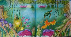 #johannabasford #magicaljungle Inspired by Diana Moares on Youtube.