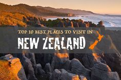 New Zealand has a wealth of national treasures and holiday destinations worth exploring which can make planning your travel itinerary a little difficult.