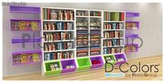 Montamos librerías y papelerías.