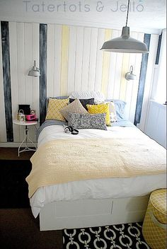 Outfit to Room Design Blue Mustard Yellow Mustard Bedrooms