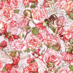 2 Meter Sweet Flower Fairies Sweet Garden Rose von weiselect, $20.50