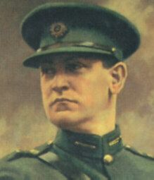 Michael Collins . . . striking figure and was so handsome!