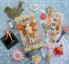 My box and goodies for Shelly by Smifferoo, via Flickr