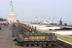 Camo Baru Kendaraan Tempur Marinir