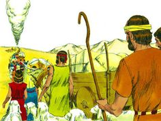 Free Bible illustrations at Free Bible images of Moses and how God provided food and water in the desert. Free Bible Images, Bible Pictures, Free Stories, Bible Stories, Exodus Bible, Book Of Joshua, Bible Illustrations, God Will Provide, Bible Lessons For Kids