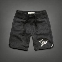 Mens Gray Peak Shorts | Mens Shorts | Abercrombie.com