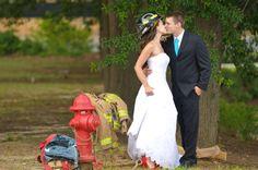 Firefighter wedding - www.BetterTieProductions.com
