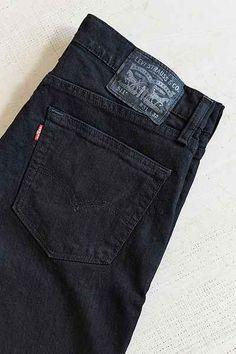 7cf19ceda0cd Levi s 511 Black Stretch Slim Jean