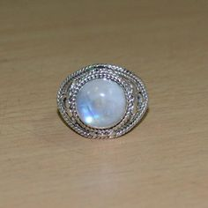 Summer offer:Get 25% discount on Min Purchase $25-SUM15  Beautiful Rainbow Moonstone Gemstone Silver by DevmuktiJewels