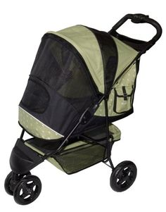 Pet Gear Special Edition Pet Stroller for cats and dogs up to 45-pounds, Sage $107.07