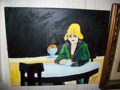 edward hopper | OLD: Edward Hopper - Waiting Woman by ~sarahtheluna on deviantART