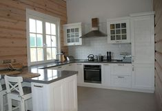 Моя кухня: скандинавский стиль в деревянном доме