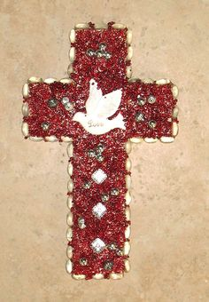 Mod Podge Picture Collage Cross Crosses Pinterest