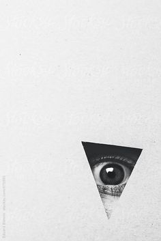 Black and white photo. By Eduard Bonnin - Black and white photo. By Eduard Bonnin - Black And White Bodies, White Eyes, Photography Triangle, Fine Art Photography, Cristiana Couceiro, Black Background Painting, Triangle Eye, Eyes Wallpaper, Plakat Design