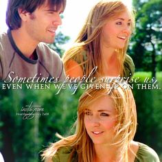 644 Likes, 4 Comments - Gabby Heartland Quotes, Heartland Tv Show, Ty And Amy, Amber Marshall, Strong Family, Thick And Thin, Family Values, Best Relationship, Best Shows Ever