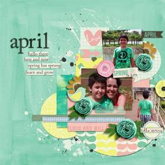 This Month - April - Bundle by Amanda Yi Designs April Blog Challenger Template by Amber Shaw