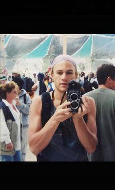 Heath at Burning Man