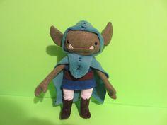 kids toys stuffed plush monster troll fairy Little Goblins by plushplex on Etsy