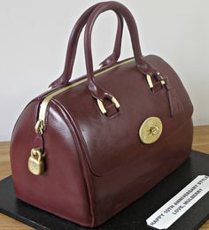 Check out my cake on Mulberry's Blog by Kingfisher Cakes, via Flickr