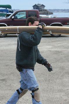 The original LL Bean Norwegian Sweater as workwear