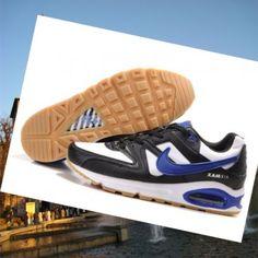 Nike Air Max Skyline Uomo nero / bianco / royal / azzurro reale Italia 's desiderio di portare l'esecuzione