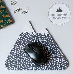 5 DIYs to Try: mountain mousepad