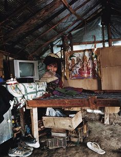 Children and their bedrooms from around the world