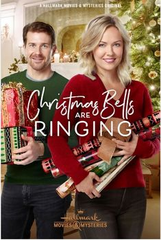 "Its a Wonderful Movie - Your Guide to Family and Christmas Movies on TV: Christmas Bells are Ringing - a Hallmark Movies & Mysteries ""Miracles of Christmas"" Movie starring Emilie Ullerup & Josh Kelly! Películas Hallmark, Hallmark Holiday Movies, Family Christmas Movies, Hallmark Holidays, Hallmark Channel, Xmas Movies, Christmas Bells, Christmas Countdown, Christmas Wishes"