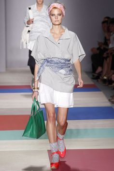 Marc by Marc Jacobs Spring 2013 Ready-to-Wear Fashion Show - Constance Jablonski