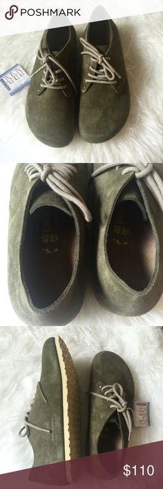 e2393ff63ea30 NWB Birkenstock Maine lace-up shoes Brand new in box Birkenstock Maine  lace-up
