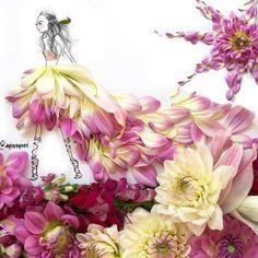 _____/ /  f l o w e r c h i l d \ \_____ #SomeFlowerGirls for @beccacosmetics // #dhalia #flowerstagram